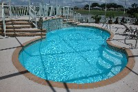 Atlantic Fiberglass Pool in Mathews, LA